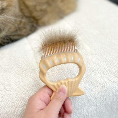ネコさんの夏のおすすめグッズ:ピロコーム(ブラシ)